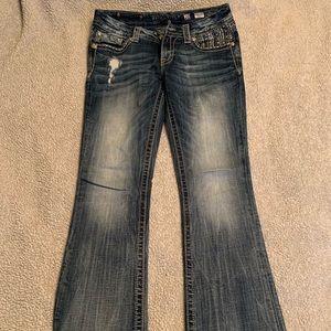 Miss Me boot cut stretch jean 29x33